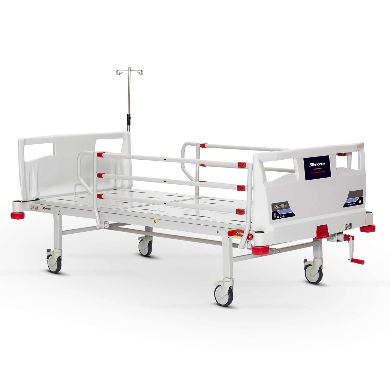1 Ayarlı Mekanik Yetişkin Hasta Bakım Yatağı
