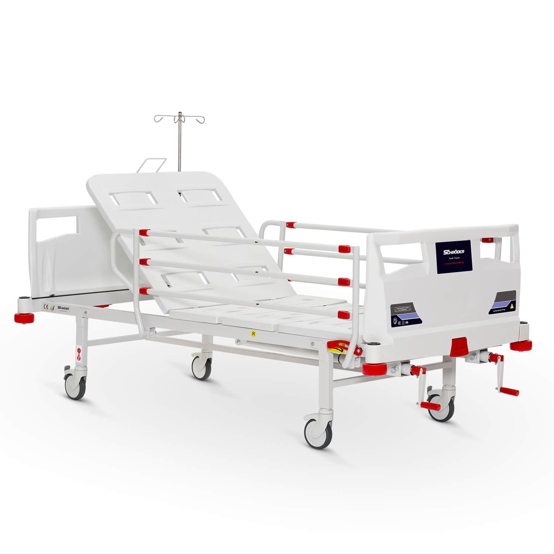 2 Ayarlı Mekanik Yetişkin Hasta Bakım Yatağı