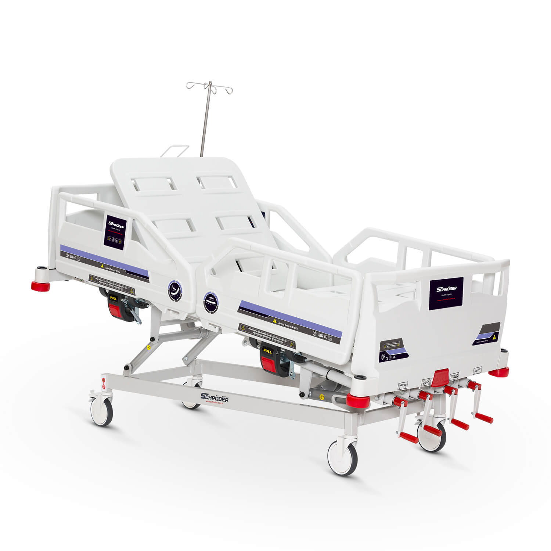 4 Ayarlı Mekanik Yetişkin Hasta Bakım Yatağı