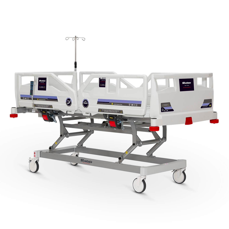 3 Motorlu Yetişkin Hasta Bakım Yatağı