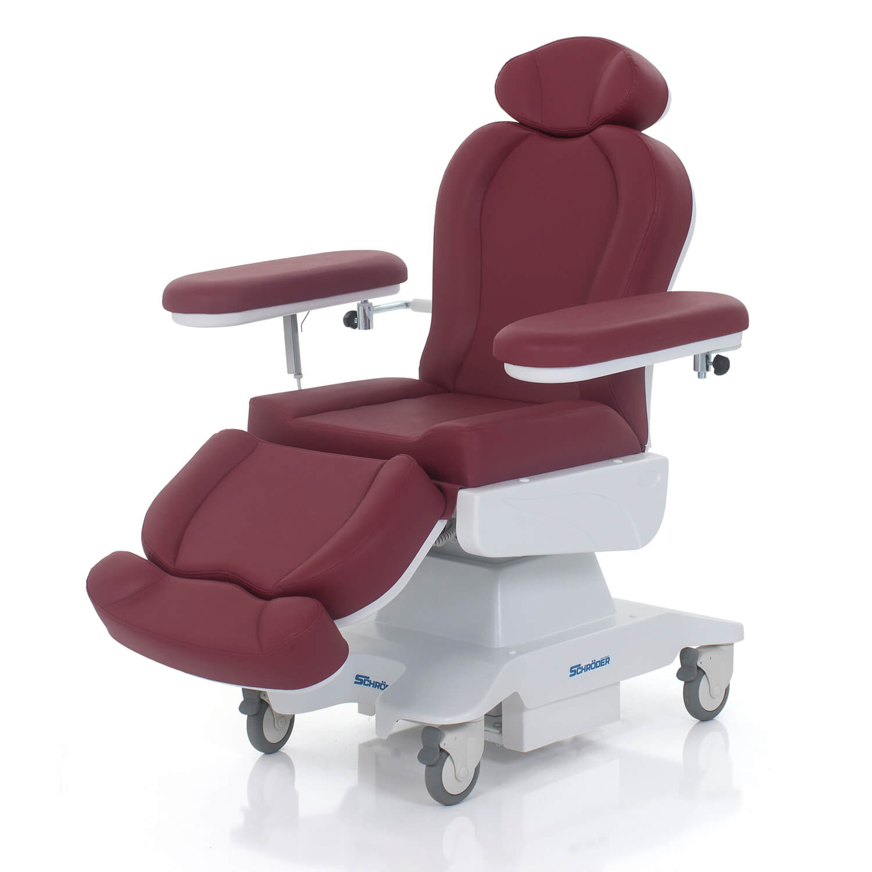 Electronic Blood Transfusion Chair, 4 Motors