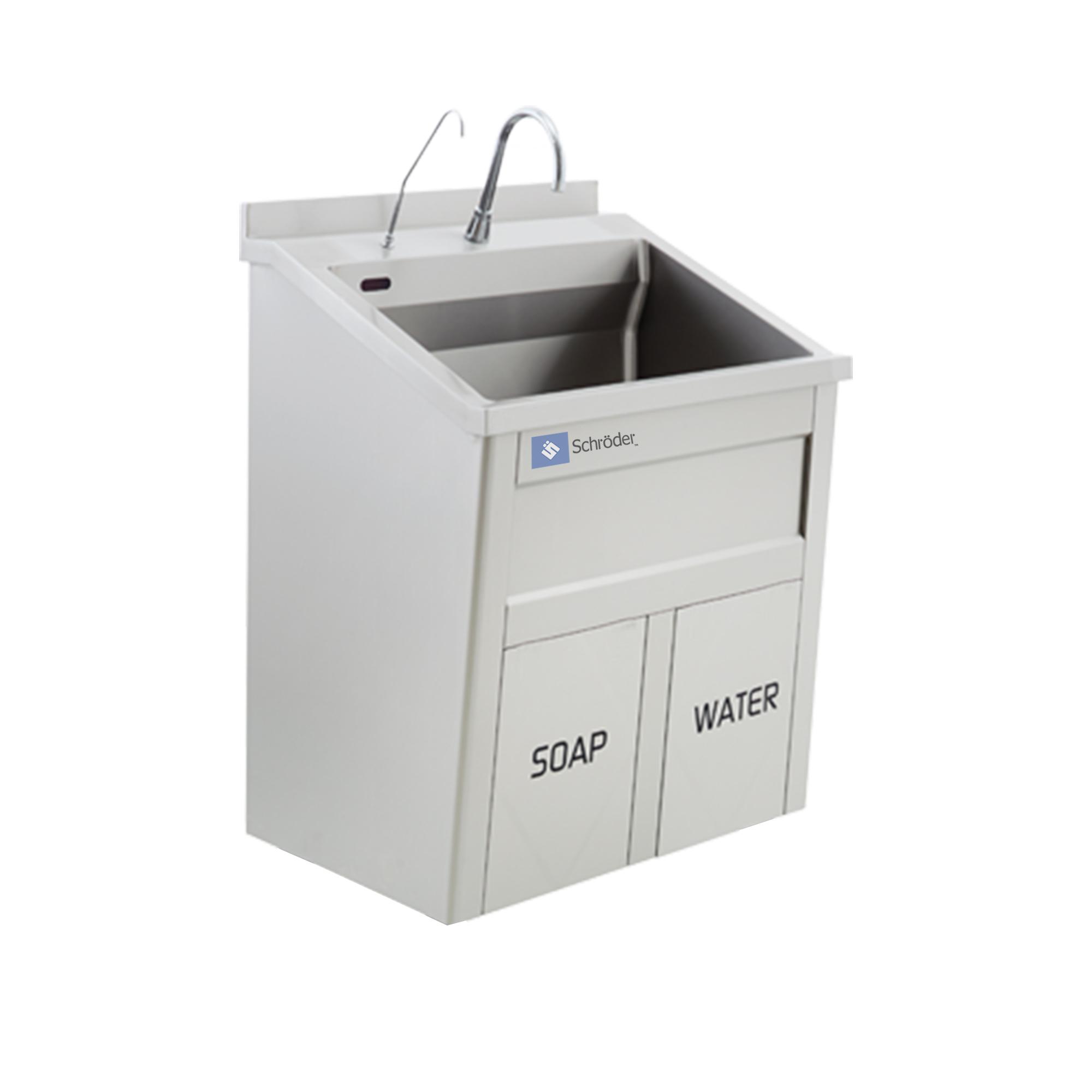 Single Bay Scrub Sink